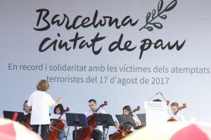 Barcelona: Acto de homenaje a las víctimas del 17A