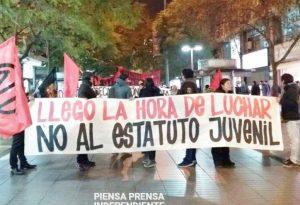 Chile. La marcha contra la precarización laboral juvenil y por una sindical de clase