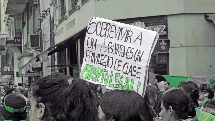 légalisation de l'interruption volontaire de la grossesse en Argentine