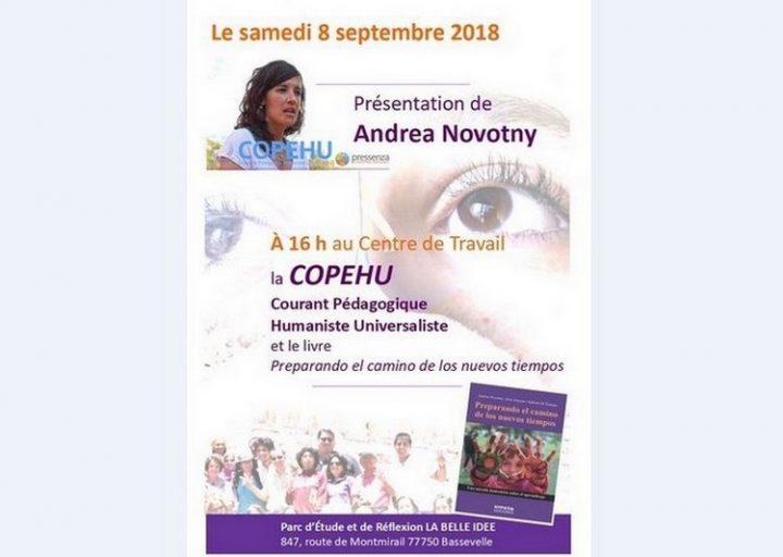 Andrea Novotny présente livre sur l'apprentissage de la non-violence