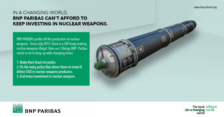 Nuclear weapons are terrifying, but what can I do?