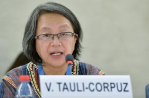 """Relatora ONU advierte complicidad de gobiernos con privados """"para desplazar a pueblos indígenas de sus tierras"""""""
