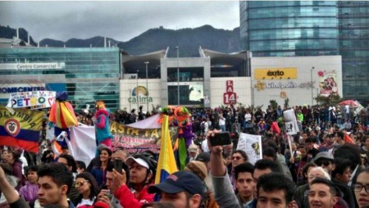 Colombia: marce per la pace e per la vita