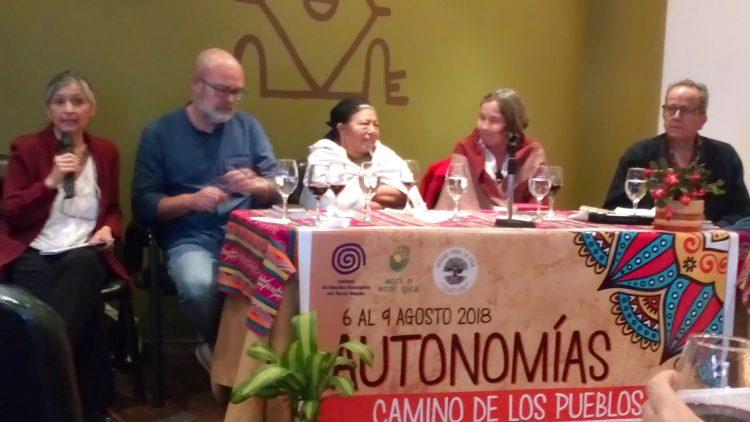 """""""Autonomías: Camino de los Pueblos"""""""