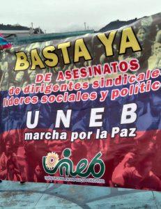 Colombia, marchas por la vida y por la paz