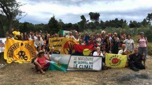 Du 6 au 12 août, un camp d'été international pour protester contre l'industrie nucléaire en France et dans le monde