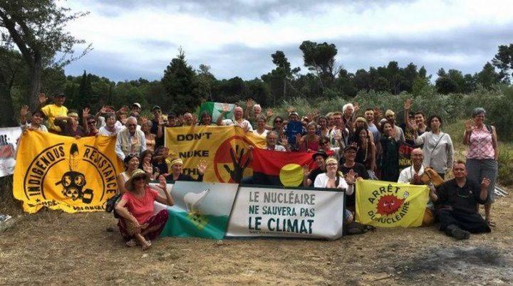 Del 6 al 12 de agosto, campamento internacional de verano para protestar contra la industria nuclear en Francia y en el mundo