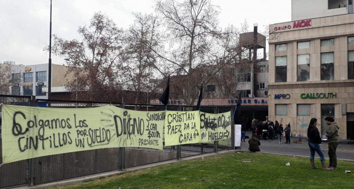 Chile, huelga en CallSouth