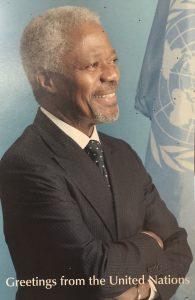 Kofi Annan : « la responsabilité de protéger »