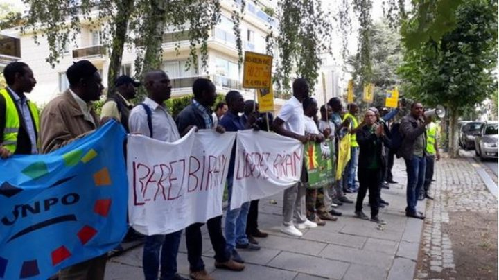 Mauritanie: Libérez Biram Dah Abeid! Manifestation à Bruxelles