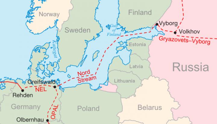 Nord Stream I und II