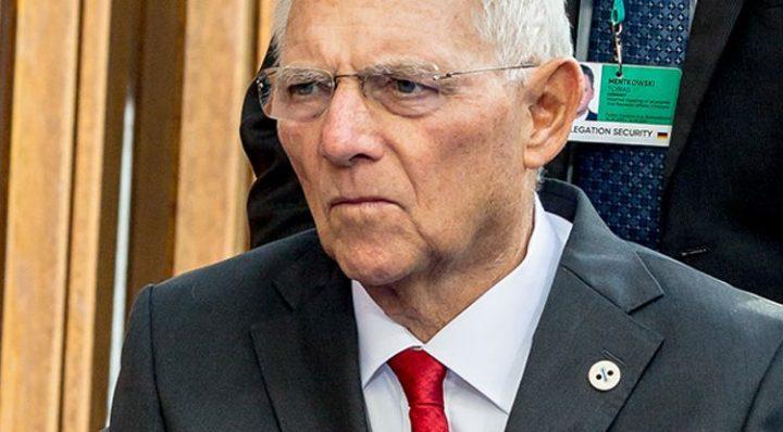 Schäubles Feuerbrunst