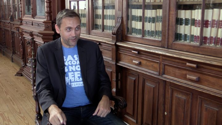 Scott Santens, activist and example of how to live on a basic income