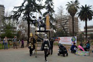 Santiago de Chile, colectivos por la vida y cultura de barrio