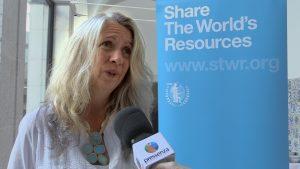 [Revenu de base] Sonja Scherndl : Les problèmes mondiaux ont besoin de solutions mondiales
