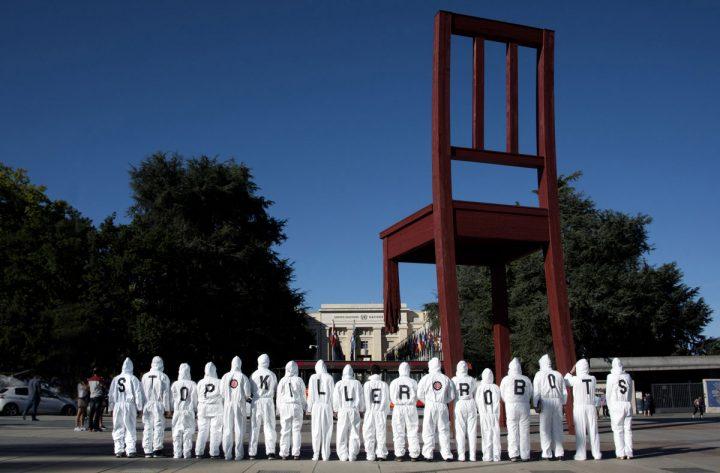 Une nouvelle convention internationale sur les armes létales autonomes est en cours d'étude aux Nations Unies