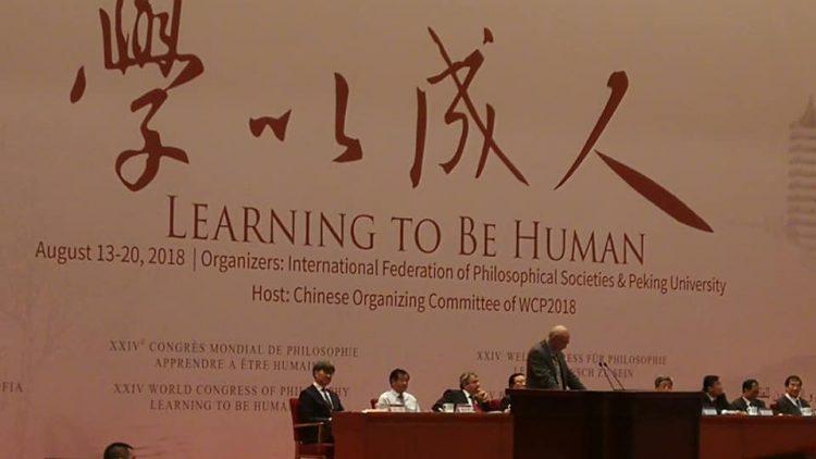 « Apprendre à être humain » : le 24e Congrès mondial de Philosophie s'est ouvert à Pékin
