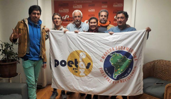 Marcha Sul Americana pela paz e não violência