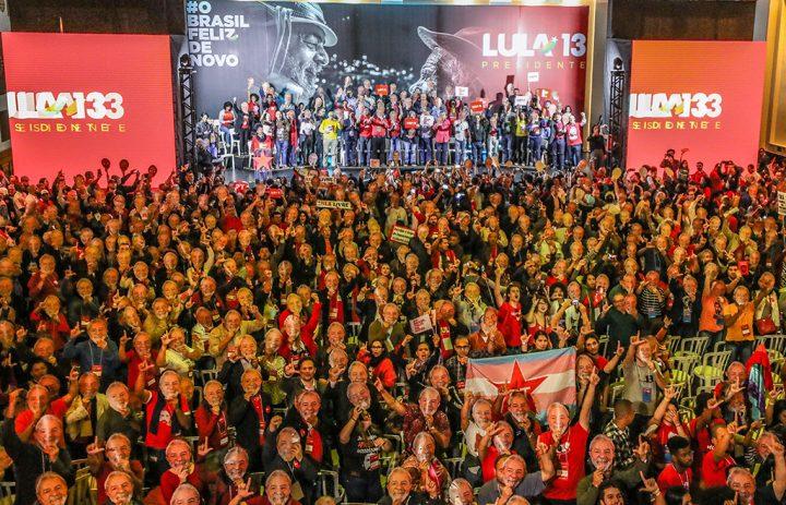 Convenção do PT confirma Lula candidato à Presidência da República