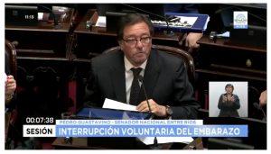 #EnVivo Sesión sobre Ley de Interrupción Voluntaria del Embarazo desde el H. Senado de la Nación Argentina