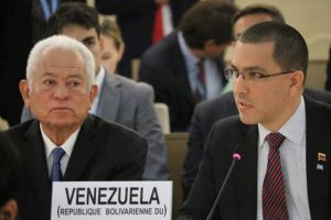 Venezuelan FM Denounces Economic Siege to UN Special Rapporteur