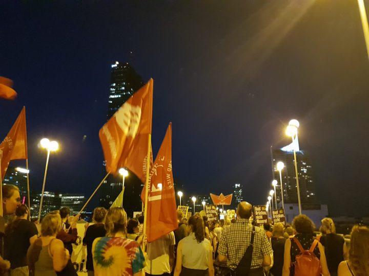 Eindrücke Demonstration 12.9.2018