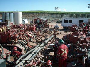El mecanismo de fracturación hidráulica produce desechos radioactivos