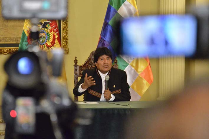 Bolivia anhela nuevas relaciones con Chile tras fallo de La Haya
