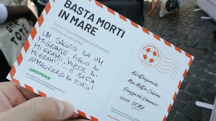 """""""Caro"""" Ministro ti scrivo: al Pantheon la sommossa epistolare """"Solo in cartolina"""""""