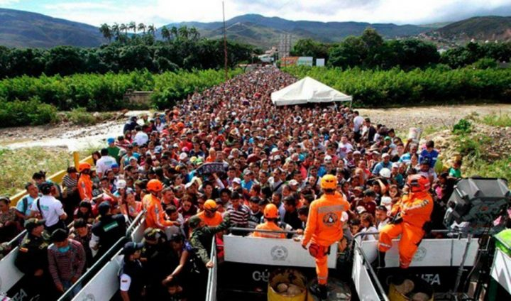 "Making up a migration crisis to create a ""casus belli"" against Venezuela?"