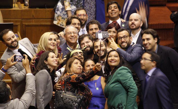 Chile:  El Frente Amplio es la coalición con mayor nivel de unidad de votación entre sus diputados