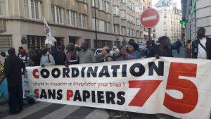 Manifestation des sans-papiers : pour aller au-delà du 'vivre individuel'
