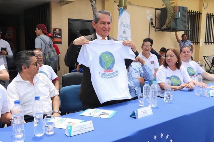 La educación superior del Ecuador también se suma a la Marcha Suramericana