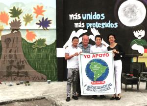 Marche sud-américaine pour la paix et la nonviolence : prêt pour le départ !