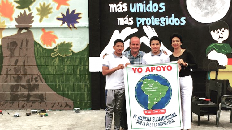 Instituciones educativas que se suman a la Marcha Suramericana