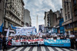 5 de setiembre: marcha contra los despidos en Télam