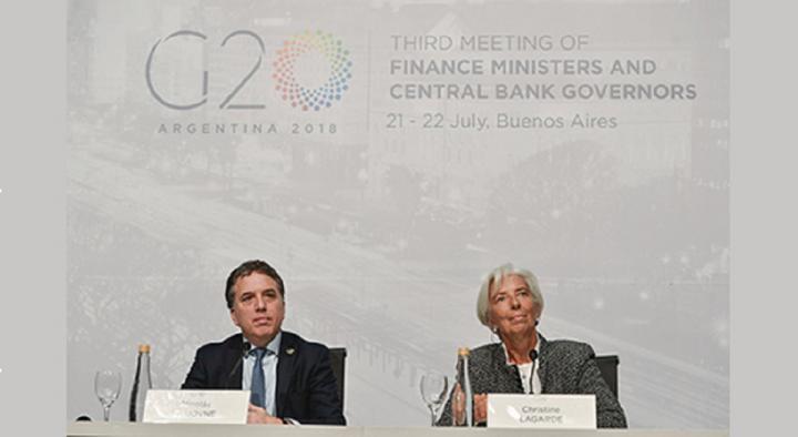 Funcionarios argentinos llegaron a Washington para reunirse con el FMI