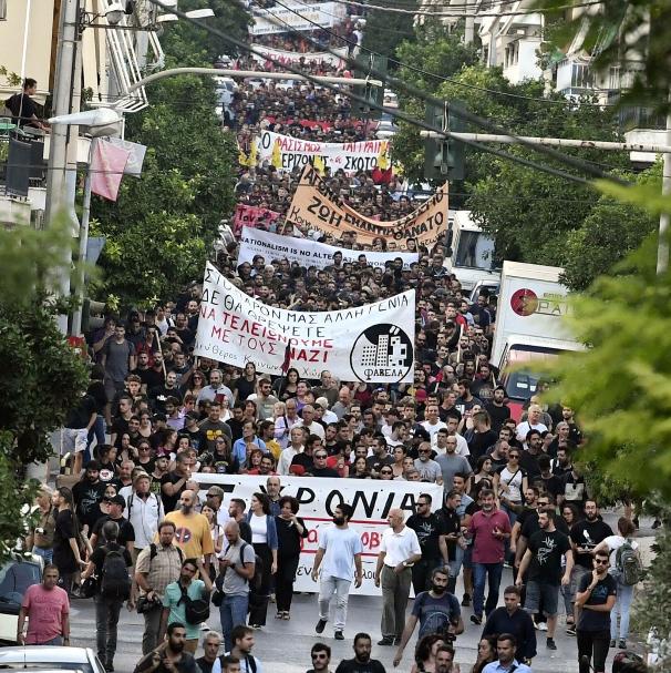 Κερατσίνι: ηχηρό ΟΧΙ στο φασισμό