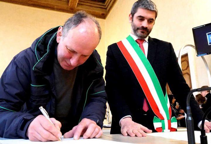 Vicenza Cerimonia Cittadinanza
