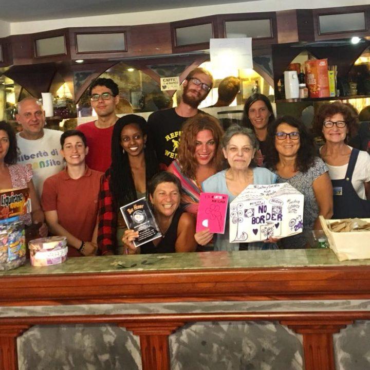 Ventimiglia, il bar di Delia r-ESISTE