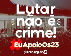 Brasile: persecuzione giudiziaria contro le organizzazioni popolari