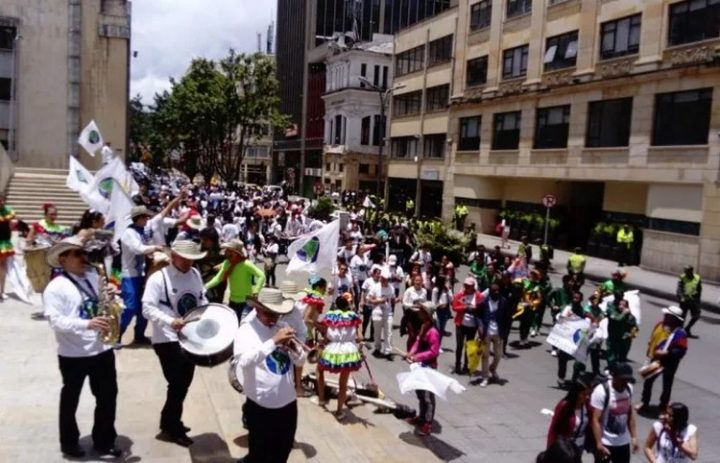[South American March for Peace and Nonviolence] Great Symbolic March