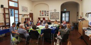 Prima riunione del comitato promotore italiano della II Marcia Mondiale per la Pace e la Nonviolenza