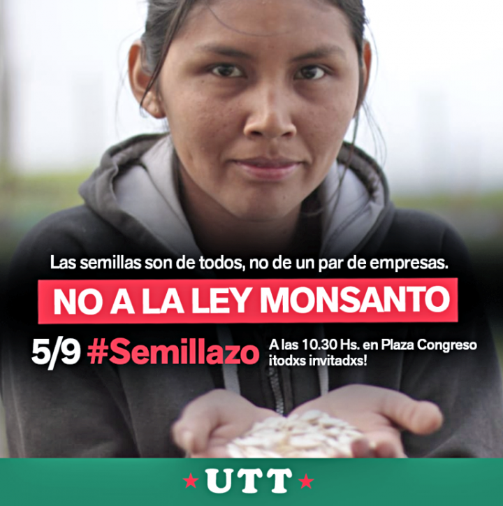 Semillazo contra la Ley Monsanto-Bayer