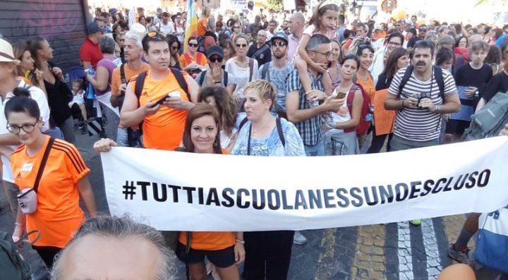 Bolonia: más de 10.000 personas en el evento por la libertad de elección en la vacunación