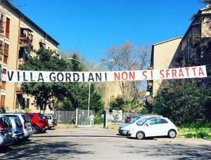 Villa Gordiani, tutti liberi i compagni arrestati