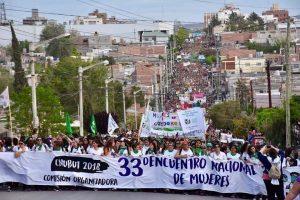 Encuentro Nacional de Mujeres en Argentina