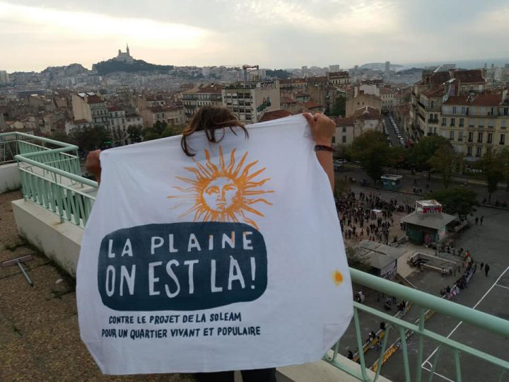 France: Marseille, un mur de la honte au cœur de la ville