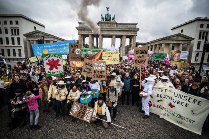 EU-weiter Aktionstag für die Agrarwende: Gießkannen-Prinzip abschaffen, bienenfreundliche Landwirtschaft stärken!