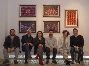 """Exposición """"WÜNELFE"""" (La luz del mundo) de Artes Multimediales en el Centro Cívico de la comuna de El Bosque"""